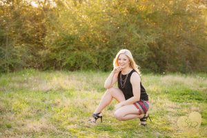 Bryan Texas Senior Photography research park